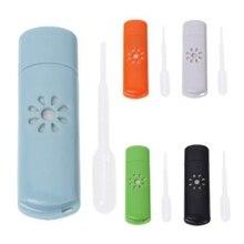Мини USB автомобильный Ароматерапевтический диффузор, ароматический увлажнитель, Ароматический диффузор, автомобильный Ароматерапевтический аппарат