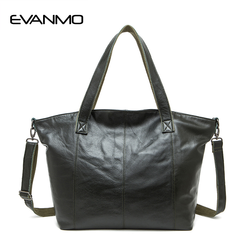 European and American Style First Layer of Leather Handbags Retro Totes Shoulder Bag Large Capacity Leather Simple Messenger Bag aetoo boston first layer of leather ladies handbag bag fashion simple simple large capacity handbags shoulder messenger bag