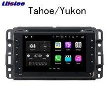 Liislee Android автомобильный навигатор GPS для GMC Tahoe/Yukon 2007 ~ 2012 аудио-видео Радио HD Сенсорный экран стерео Мультимедиа плеер.