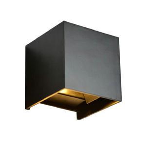 Image 2 - Dimmable COB IP67 קוביית מתכוונן צמודי חיצוני LED תאורת LED מקורה קיר אור עד למטה 15W LED קיר מנורה