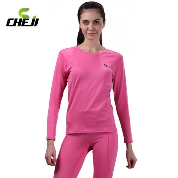 Aliexpress.com : Buy 2015 Beautiful pink women's sports thermal ...