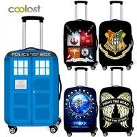 Телефонная будка/защитный чехол для багажа штурмовика для путешествий эластичный чехол для чемодана против пыли Чехлы для чемодана на коле...