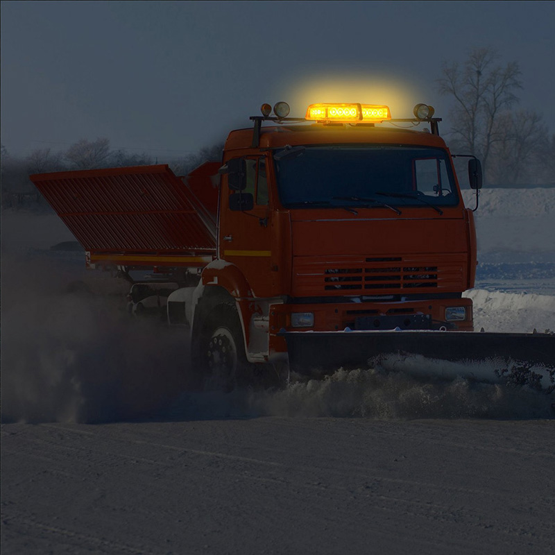 Us 38 88 30 Off Led Strobe Light Bar 12 24v Emergency Hazard Warning Truck Car Vehicle Snow Plow Safety Enforcement Flash Emergency Strobe Light In