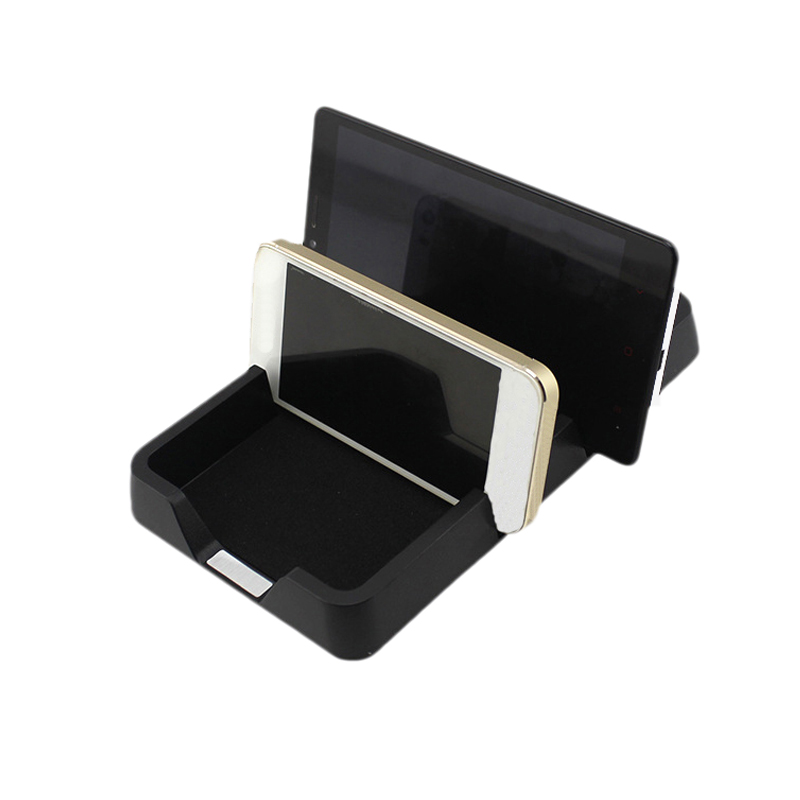 Universal Car Phone Holder GPS Car-Syling Instrument Desk Anti-slip Small Items Storage Box Automobiles Interior Accessories