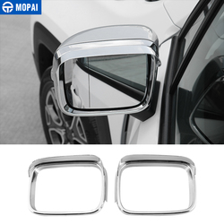 MOPAI ABS Chrome Car Rearview Mirror Side Glass Mirror Decoration Cover Trim Stickers for Jeep Renegade 2015-2016 Car Styling