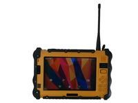 Portable 7 Rugged Industrial Waterproof Tablet Mini PC Handheld Terminal UHF VHF PTT Radio Android 6