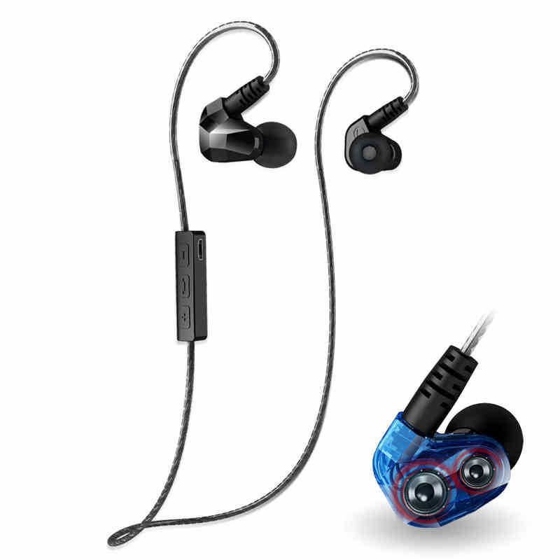 Original New Bluetooth 4.1 Stereo Headset In-Ear Sport Running Wireless Earphone Music with Mic For IOS Andriod Phone  wireless music bluetooth headset 4 mini head wear sport ear hanging ear type 4 1 universal running stereo can insert card radio