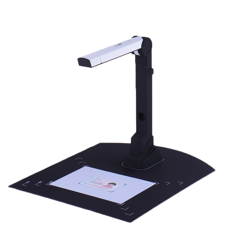 NT Portable Folding High-speed Camera 500W Pixels 2400x4800dpi Automatic A4 Document Scanner CMOS Video Recorder Mobile Office l1000 portable hd 10mp 3672x2856 usb camera photo image document book a3 a4 scanner visual presenter high speed ocr scanner a3