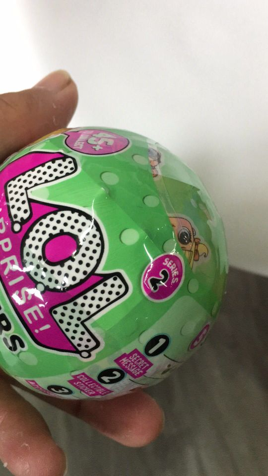 lol serie 2 7cm LOL Surprise Doll Magic Funny Removable Egg Ball Doll font b Toy