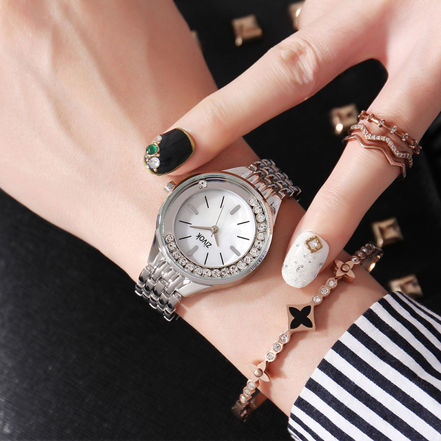 Luxury Brand zivok Lovers Wrist Watch Women Bracelet Watches Relogio Feminino Si