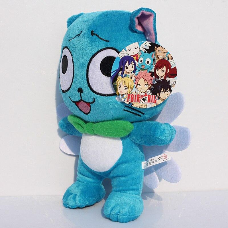 US $6.84 33% OFF Fairy Tail Glückliche Plüsch Anime Cartoon Figur Charakter Gefüllte Weiche Puppen Spielzeug Großes Geschenk in Fairy Tail Glückliche