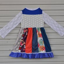 1b47966ce033 2017 Fashion New Persnickety Remake Baby Girl Boutique Clothing Lace Floral  Frocks Cotton Children Long Dresses CX008