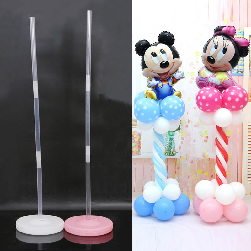 30Cm Plastic Ballon Base Stand Accessories Tubes Sticks -2039