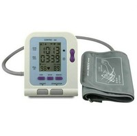 CONTEC08C Home Clinic Electronic Automatic Arm Blood Pressure Monitor