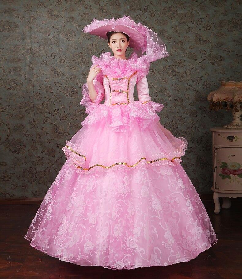 18th century Marie Antoinette vestido rococó princesa prom vestidos ...