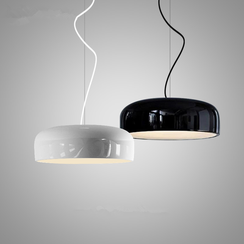 Modern Nordic Pendant Lights American Country Black/White Lustre Pendant Lamp Cafe Restaurant suspension luminaires hanging lamp in stock newest kz zs6 2dd 2ba hybrid in ear earphone hifi dj monitor running sport earphone earplug headset earbud kz zs5 pro