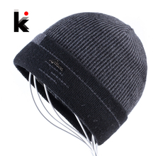 2018 Knitted Skullies Men Beanies Winter Hats For M