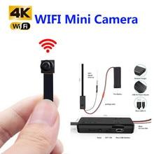 Мини Wi Fi Cam 1080 P видеокамера мини камера видеонаблюдения ночное видение 2,4 г RF Инфракрасный пульт ДУ DIY