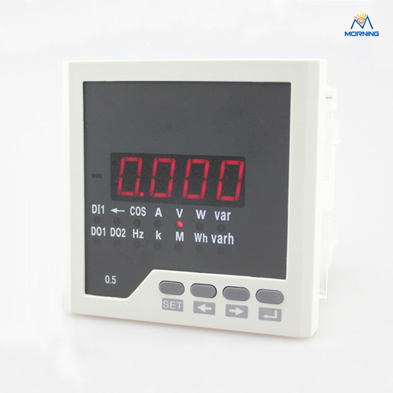 ФОТО D3 factory price panel size 96*96 digital multimeter with rs485  for distribution box