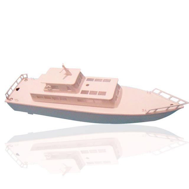 Frete grátis dolphin diy iate elétrica montagem modelo de navio barco artesanal educacional toy presente das crianças