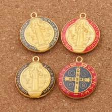 Эмаль орден Святого Бенедикта крест Распятие smqlivb бусины