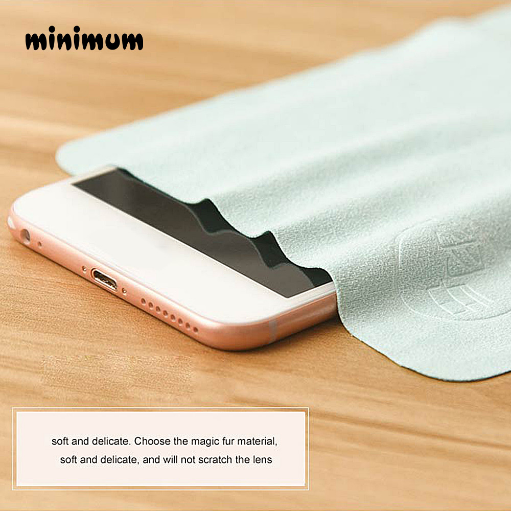 5 pcs/lots Customized Chamois Glasses Cleaner  Microfiber Glasses Cleaning Cloth For Lens Phone Screen Cleaning Wipes Eyewear 4
