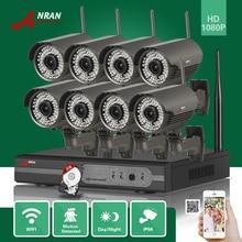 ANRAN P2P 8CH 1080 P HDMI WIFI NVR 3 TB HDD 2.8-12 MM 78 IR Al Aire Libre 2MP Cámara IP Inalámbrica Sistema de Vigilancia CCTV de Seguridad de Vídeo