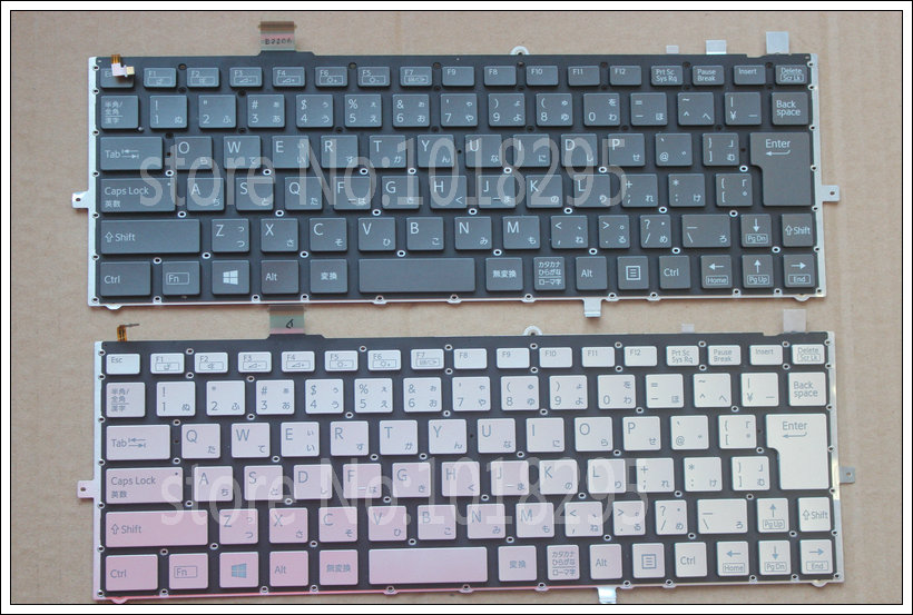 New Japan Laptop Keyboard for sony vaio Duo 13 SVD13 SVD1321Z9EB SVD13215PXB SVD132A14L SVD13228SCW JP Backlit keyboard laptop keyboard for pegatron japanese jp mp 13a80j065827 0kn0 cn6jp12