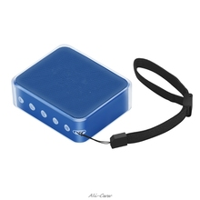 ТПУ защитный кожаный чехол для JBL GO 2 беспроводной Bluetooth динамик прозрачный кожаный чехол с ремешком на руку
