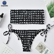 df742dc3ee3d Compra black and white strapless bikini y disfruta del envío ...
