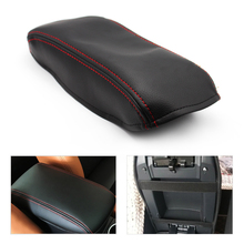 Armrest-Box-Cover 2007 Toyota Camry Car-Center-Console 2006 2008 Lid with Red Stitching