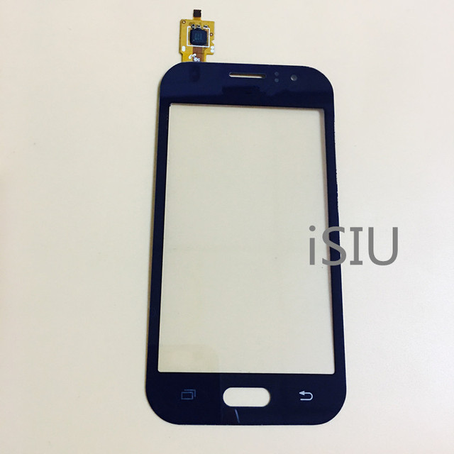 iSIU For Samsung Galaxy J1 Ace J110 SM-J110F J110H J110FM Touch Screen With Digitizer Phone Touch Panel Front Glass Black White