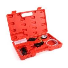 Многофункциональный ручной вакуумный насос тормозной Bleeder вакуумный тестер набор для большинства автомобилей