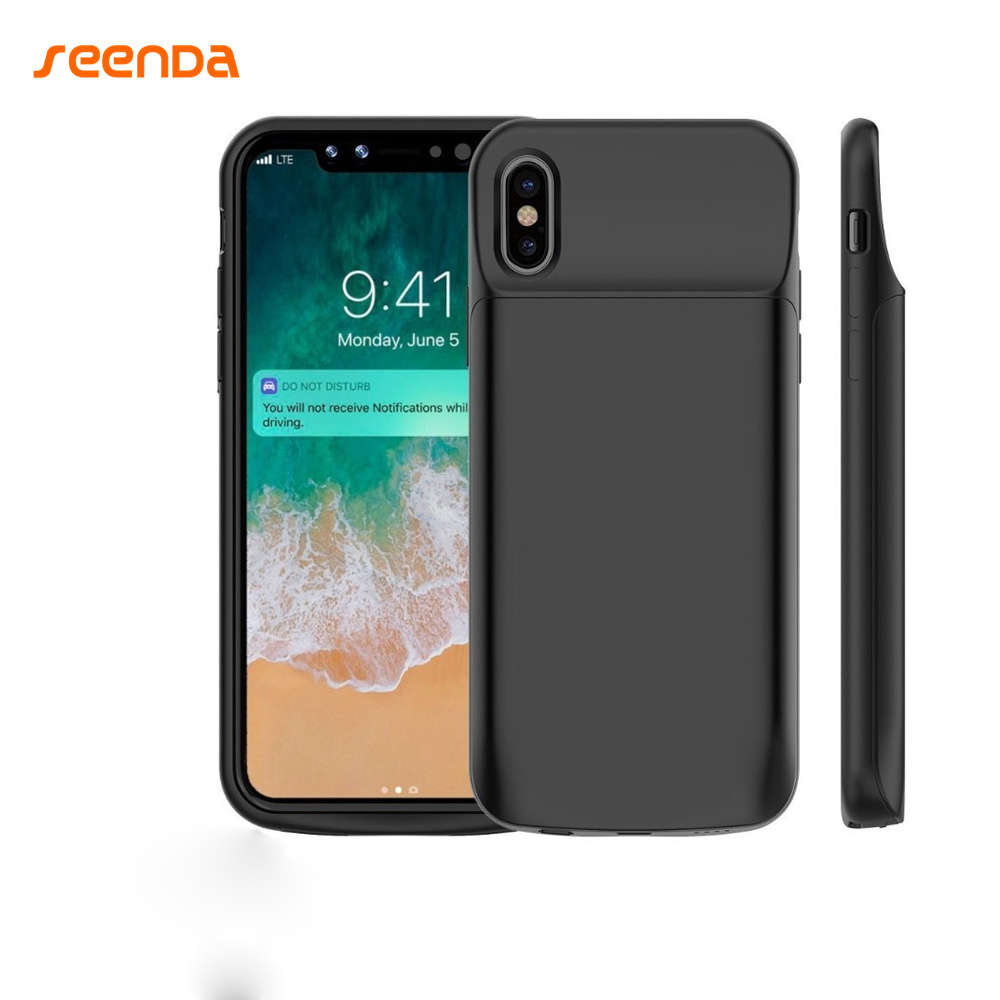 Portable charging case for iphone x 3600mah 6000mah for Iphone x portable charger