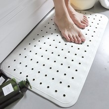 Soft Massage Waterproof Tasteless Shower Mat AntiSlip PVC Bathroom With Suction Cup Toilet Bathtub Floor Rug Bath Carpet