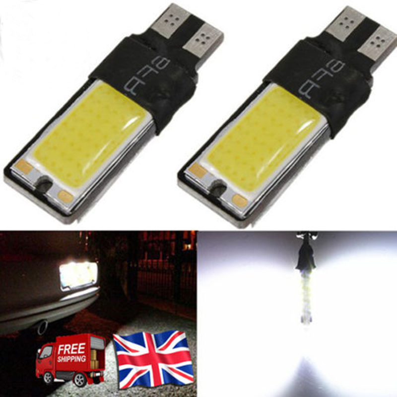 1pcs T10 LED 194 168 W5W COB Interior Bulb Light Parking Backup Brake Lamps Canbus No Error Cars xenon Auto Led Car Bulb Lamp