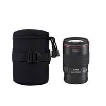 1pcs YN-06 Camera Lens Bag Protective Cover 11*19cm Waterproof Soft Pouch for camera accessories lens