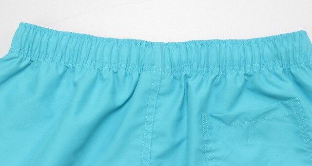 Summer Board shorts men casual solid Mid Beach shorts fashion printed Waist shorts man Straight Drawstring shorts S-XXL Hot sale 3