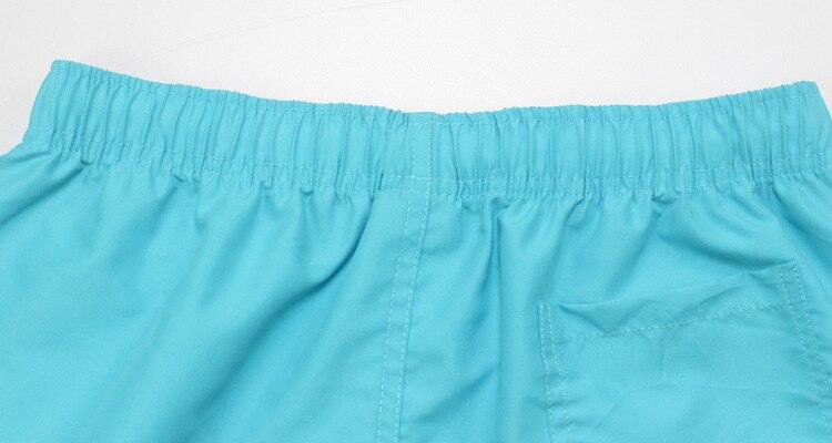 Летние пляжные шорты мужские повседневные однотонные пляжные шорты модные шорты с принтом на талии мужские прямые шорты с завязками S-XXL горячая распродажа