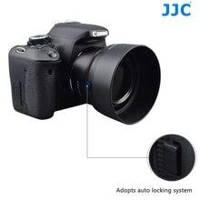 JJC バヨネットカメラレンズフードキヤノン EF 50 ミリメートル f/1.8 STM レンズキヤノン ES 68 置き換えレンズプロテクター
