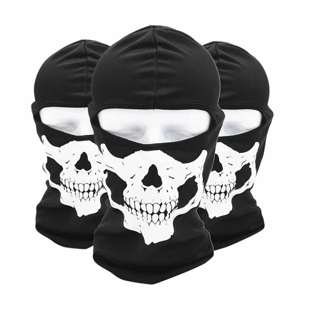 Motorcycle Balaclava Full Face Mask Warmer Windproof Breathable Airsoft Paintball Cycling Ski Shield Anti-UV Sun Hats Helmet #30