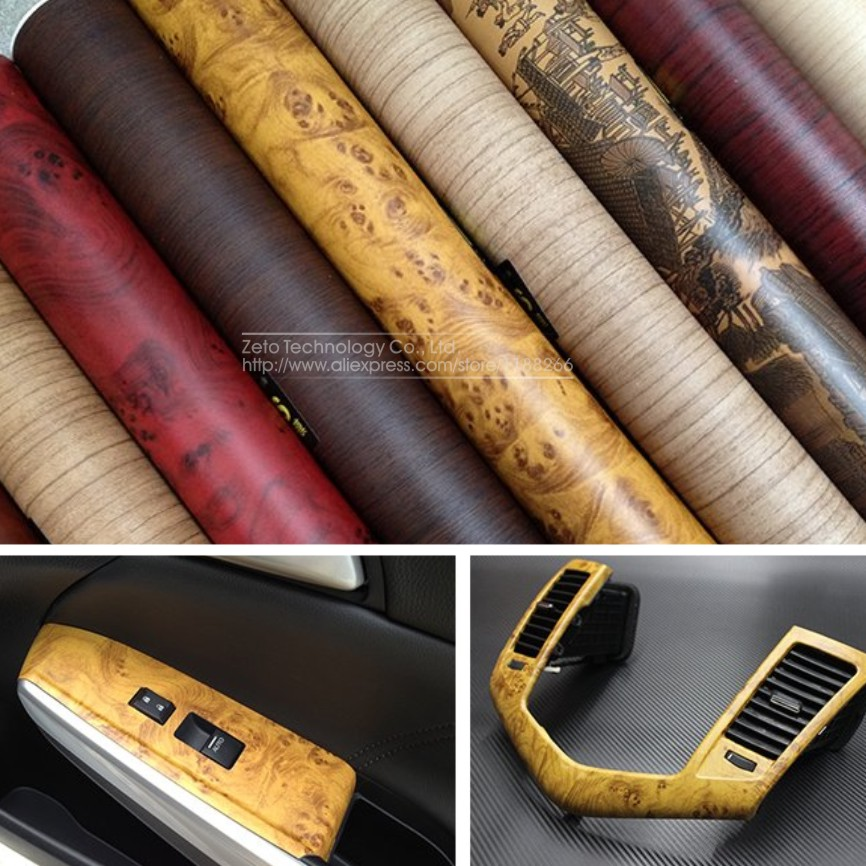 Selbstklebende Tapete Cars : Wood Grain Self Adhesive Vinyl