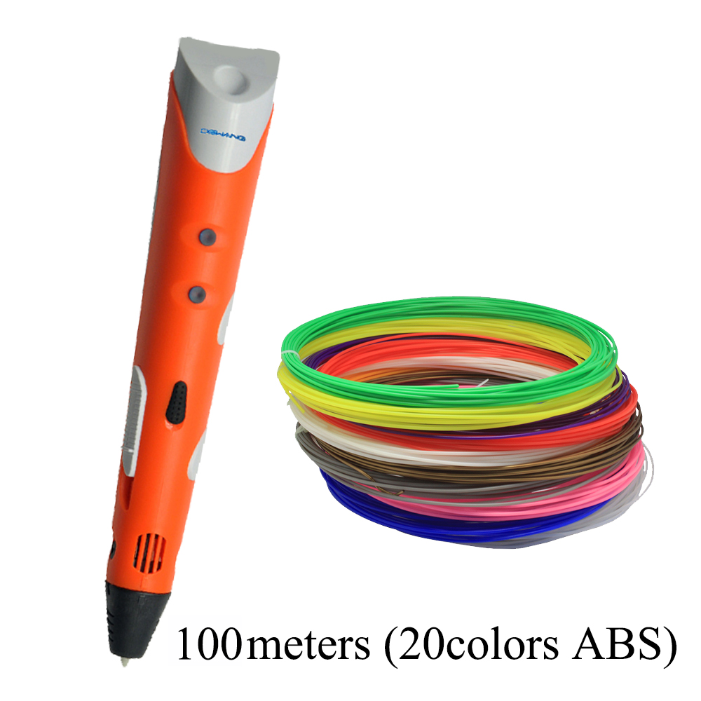 DEWANG 3D ручка писана 1,75 мм ABS нитка 3D - Офісна електроніка - фото 4