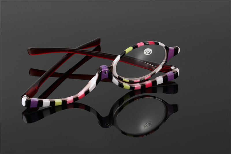 S5024 specially use make up reading glasses makeup moveable one len reader eyewear for women in Women 39 s Reading Glasses from Apparel Accessories