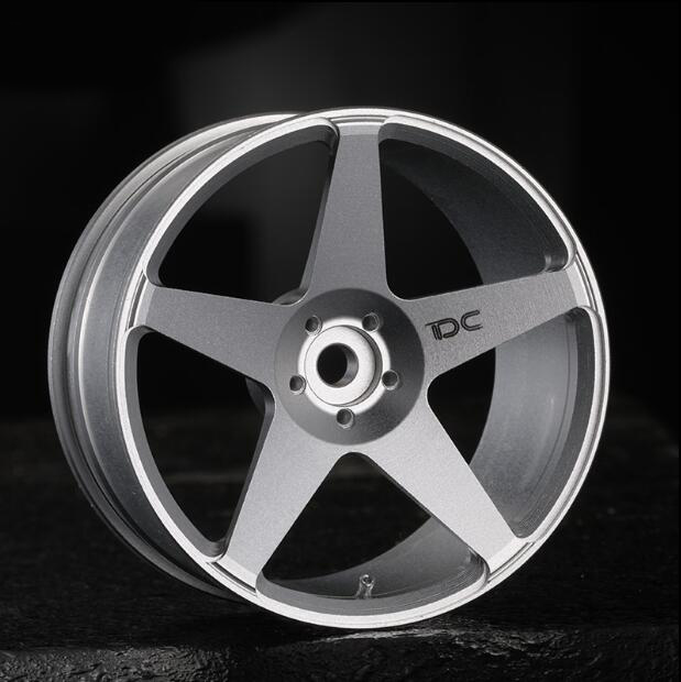 Free Shipping 1/10 Scale RC Drift Car Wheel Hub ROC Metal Wheels Offset +6 Diameter 52mm Spare Part 1pc j391 80mm diameter rubber wheel 1 16 simulation separable model car wheel remote car plastic hub free shipping russia