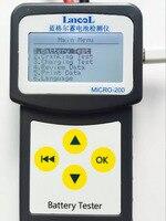 Русский Испанский нескольких языков автомобильной 12 В Авто Батарея Тестер 100-2000 cca 30-200Ah Системы анализатор может напечатать в ПК
