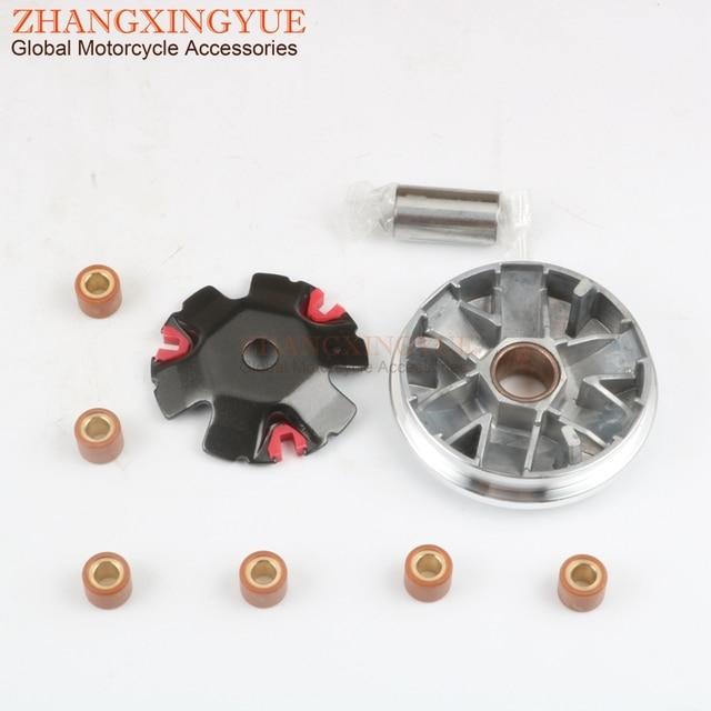 Характеристики, набор вариаторов 20 мм с роликами 9 г 16x13 мм для PEUGEOT Buxy M 50 Citystar Django Elyseo Elystar Gipsy 50cc 2-тактный