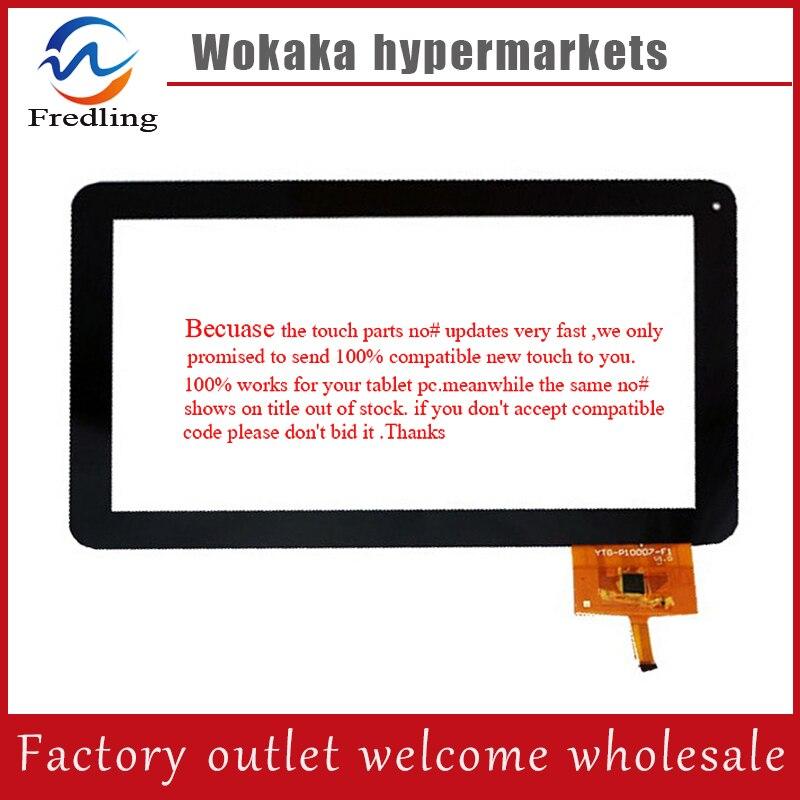 New 10.1 Newsmy T10 Tablet YTG-P10007-F1 Capacitive touch screen panel Digitizer Glass Sensor Replacement Free Shipping newsmy t7 7inch touch screen capacitive z7z67 z7z35