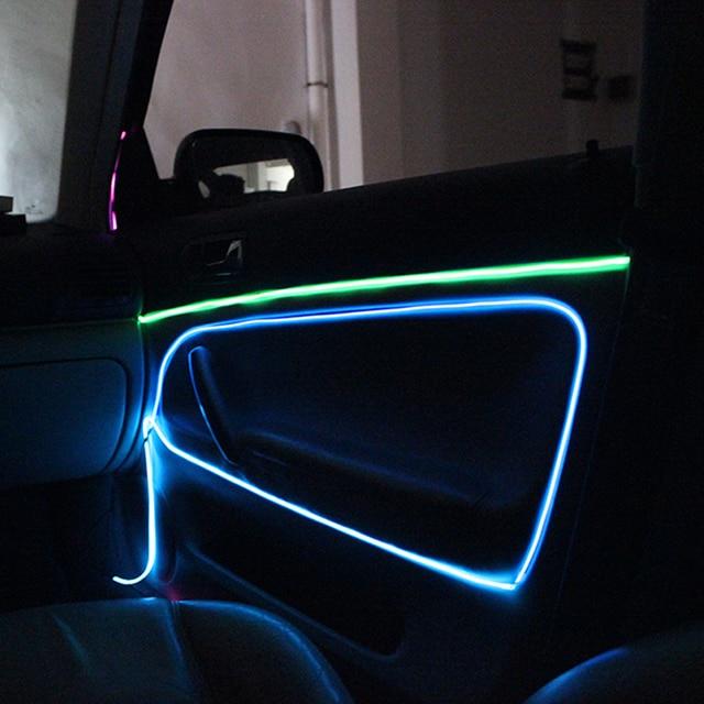 Elektrolumineszenz Flexible EL Draht Interne Kalt Neon Licht für ...