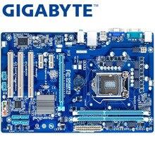 GIGABYTE GA-H61-S3 рабочего Материнская плата H61 разъем LGA 1155 i3 i5 i7 DDR3 16G блок питания ATX оригинальный H61-S3 б/у